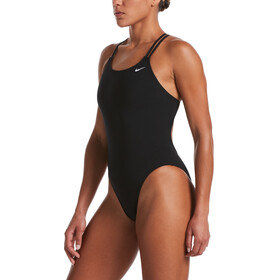 Nike Swim Hydrastrong Solids Spiderback One Piece Swimsuit Women, zwart